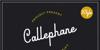Callephane Font poster