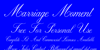 Marriage Moment Personal Use Font handwriting text