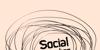 Social Monster Font sketch drawing