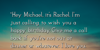 Rachel's Requiem Font text screenshot