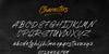 Brushwell Font poster