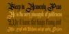 Germanika Personal Use Font text handwriting