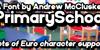 PrimarySchool Font text