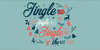 Merry Christmas Font design poster