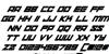 xenosphere Font Letters Charmap