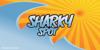 Sharkyspot Font design cartoon