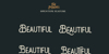 The Monokill  Font screenshot design