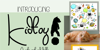 Kidtoy! Font carnivore animal