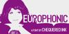 Europhonic Font design cartoon