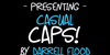 Casual Caps Font text design