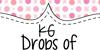 KG Drops of Jupiter Font cartoon design