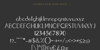 Livingston Serif Font screenshot