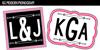 KG Modern Monogram Font design graphic