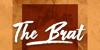 The Brat Font poster
