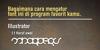 Evolution Font text