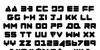 Zealot Font Letters Charmap