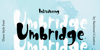 Umbridge Demo Font poster