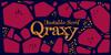 Qraxy Font cartoon design