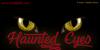Haunted Eyes Font cat animal