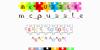 McPuzzle Color Font screenshot design