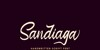 Sandiaga Free Personal Use Font poster