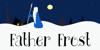 DK Father Frost Font cartoon illustration