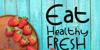 Strawberry Cocktail Font fruit food