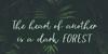 Vingiloth Font text palm tree