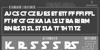 Death Star Font screenshot text