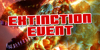 Extinction Event Font poster