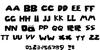 Roblox_Font Letters Charmap