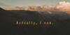 Winflo Font mountain cloud