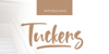 Tuckers Font text