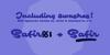 Safir Script PERSONAL USE ONLY Font screenshot design