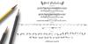 Pink Gladiolus Font handwriting letter