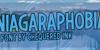 Niagaraphobia Font screenshot poster