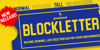 Blockletter Font screenshot text