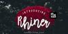 Rhiner Font tree sign