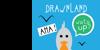 drawnland Font cartoon bird