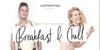 Breakfast And Chill DEMO Font fashion design