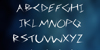 3M Spasynote Font handwriting text