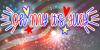 Oh My Its July Font fireworks screenshot