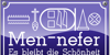 Men Nefer Font design graphic