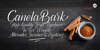 Canela Bark Personal Use Font handwriting text