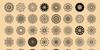 shapes Font pattern illustration