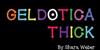 GelDoticaThick Font screenshot design