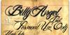 Billy Argel Font book text