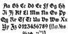 Koch Fette Deutsche Schrift Font Letters Charmap