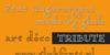 Dagerotypos Font screenshot text