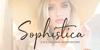 Sophistica 1 Font fashion cosmetics